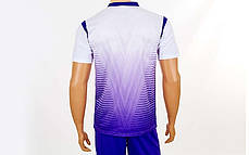 Футбольна форма Brill CO-16004-W (PL, р-р S-2XL, білий, шорти фіолетові), фото 3