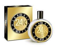 Оригинал Мужской парфюм 24k Man Joaquin Cortes 100ml edt (мужественный,чувственный, харизматичный, насыщенный)