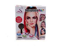 Набір для дівчаток (фарба для волосся +гребінець)