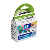 Картридж струйный ColorWay совместимый с HP CB337HE (CW-H141XL)