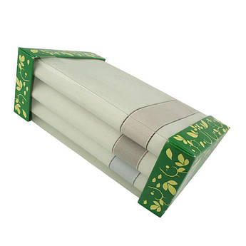 Подарочный набор белых носовых платков Ega 3 шт.