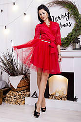 Короткая фатиновая юбка №46