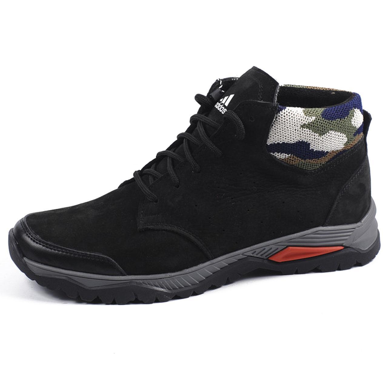 """Мужские кожаные кроссовки Adidas зима 2017 (40-44) (реплика) - Магазин одежды и обуви """"Fat Cat"""" в Ужгороде"""