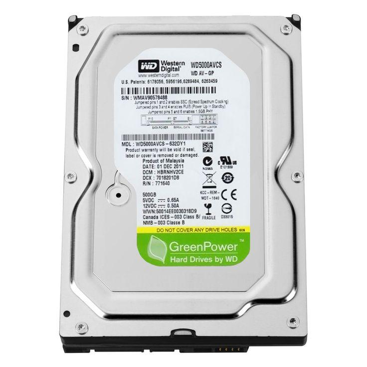 Жесткий диск (HDD) Western Digital 500GB (WD5000AVCS)