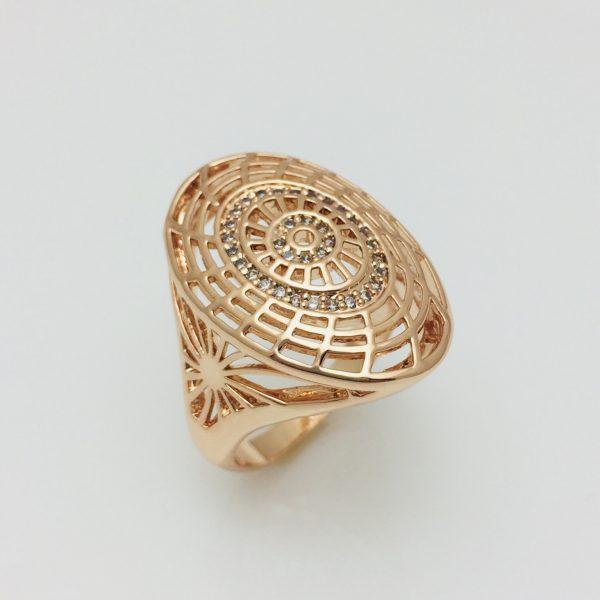 Перстень женский Fallon Шапочка, размер 17 ювелирная бижутерия
