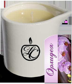 Свеча массажная «Орхидея»