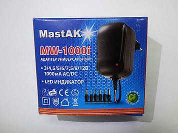 Универсальный блок питания MastAK MW-1000i (3v-12v 1000Ah)
