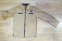 Нарядная рубашка на мальчика WAXMEN (на рост 116 см)
