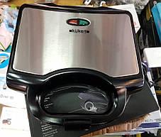 Бутербродница гриль (сэндвичница) KUKEN 750W, фото 2