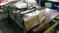 Сумка для резиновой пвх надувной лодки для переноса с вёслами и насосом. Карманы - в комплекте.