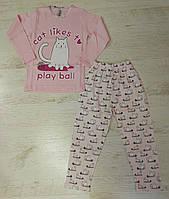 Пижама для девочек оптом,Турция,7-9 рр., арт.L789-3