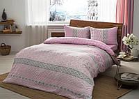 Набор зимнего постельного белья BETSY (фланель, евро-размер)