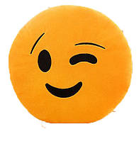 Подушка - Смайлик BeddingOutlet Подмигивающий (toy-243 подмигивающий)