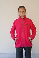 Женская спортивная толстовка Jack Wolfskin 1302251-688 розовая код 067А