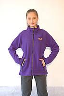 Женская спортивная толстовка Jack Wolfskin 1302251-688 фиолетово-сиреневая код 065А