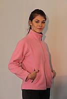 Женская спортивная толстовка Jack Wolfskin 282 розово-серая код 070А