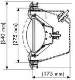 Прожектор Eurolite под лайнер 300Вт, 12В, фото 3