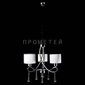 Классическая люстра с абажурами и элементами хрусталя. P13-1029/3/CH