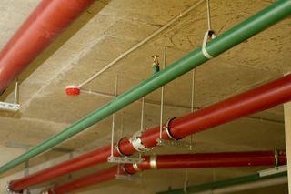 внутренний противопожарный трубопровод