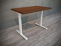 Эргономичный компьютерный стол Prime CLASSIC регулируемый по высоте для работы сидя-стоя с одним приводом