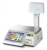 Весы торговые с чекопечатью CAS-CL 7200-U до 30 кг