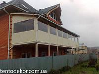 Мягкие окна (шторы) из пвх ткани