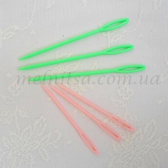 пластмассовая игла для вязания