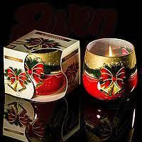 Свеча ароматизированная стекло 24ч