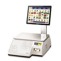 Весы торговые CAS-CL 7200S-2 до 30 кг