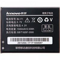 Аккумулятор, батарея, АКБ Lenovo A60, A65, A356, A368, A370e, A376, A390t, A500 (BL171)