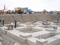 Монтаж конструкций подземной части зданий