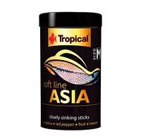 Tropical Soft Line Asia M 250ml/100g - корм для всеядных и плотоядных азиатских рыб