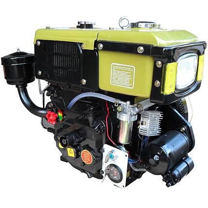 Двигатель дизельный Кентавр ДД180ВЭ (8 л.с., водяное охлаждение, электростарт), фото 2