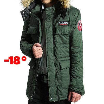 873b6b389a01 Купить Мужская зимняя куртка SWIB, цвет хаки. РАЗМЕР 44, 46 в ...