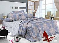 Комплект постельного белья сатин полуторный TM Tag 093