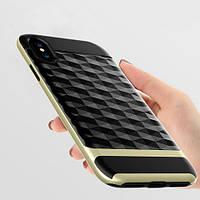 Противоударный рельефный чехол-бампер для Apple iPhone 7/8 Plus