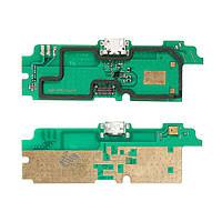 Разъем зарядки Lenovo A850 с нижней платой