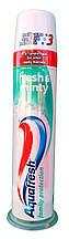 AquaFresh Fresh & Minty Зубная паста с дозатором (100 мл) Великобритания