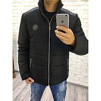 """Зимняя мужская куртка на овчине плащевка """" Аляска"""" термо и водостойкая"""