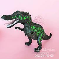 Игрушка Динозавр подсветка, звук, реалистичные движения, на батарейке, в коробке 35*12*25 см