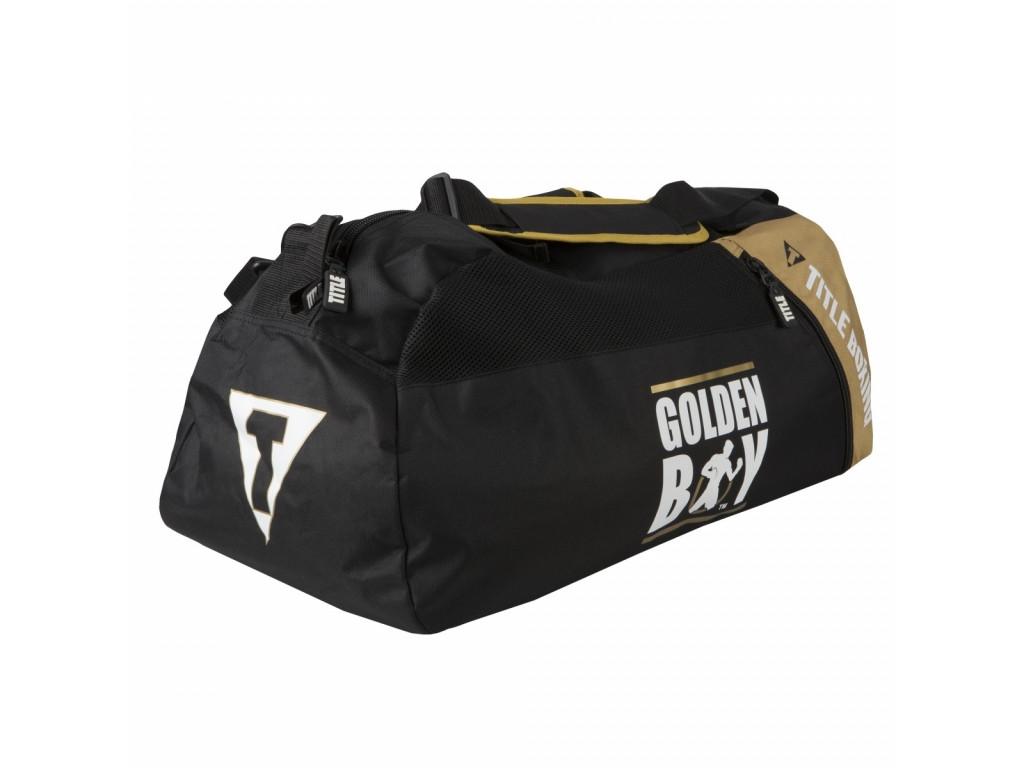 5b8b230f9f7d Сумка-рюкзак TITLE Golden Boy Super Sport Bag Back Pack - Экипировка для  бокса
