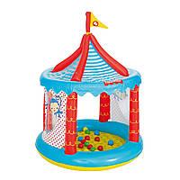 Детский игровой домик Bestway Цирк 137 х 104 см с шариками 25 шт