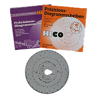 Тахокарты HICO 125км/ч. 3300 об. двусторонние