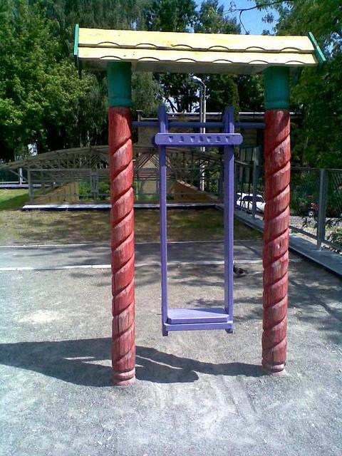 Детские площадки бюджетный вариант