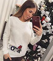 """Модный и стильный женский свитер """"Dior"""""""
