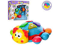 Музыкальная игрушка Жук, 19см, обучающий (цвета, животные), 7013UA