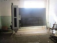 Пескоструйная камера для обработки зеркала и стекла