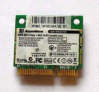 276 Wi-Fi AzureWave AW-NB047H BCM94313HMGB 802.11 b/g + 802.15BT Combo card Half mini PCI-E 54 Mbps