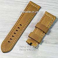 Ремешок к часам OFFICINE PANERAI  Light/brown.
