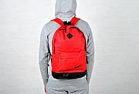Красный рюкзак найк (Nikе) городской реплика